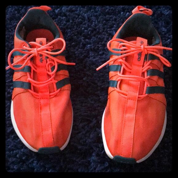 2de394708da3 Adidas SL Loop Runner orange and blue boys 6.5